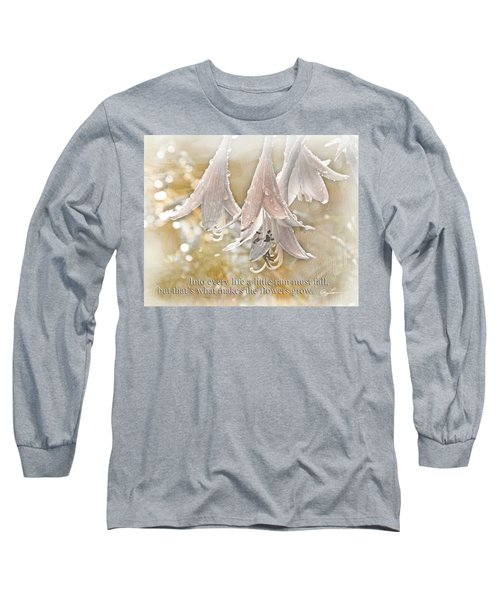 A Little Rain Long Sleeve T-Shirt