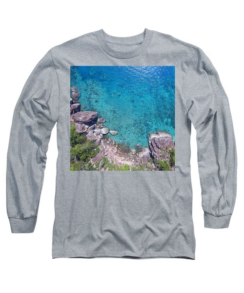 A Little Square Of Paradise  Long Sleeve T-Shirt