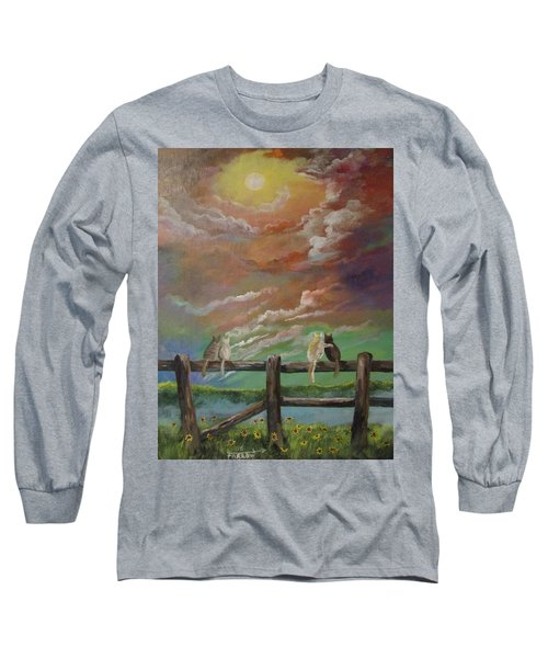 A Lovers Moon Long Sleeve T-Shirt
