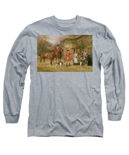A Meeting At The Three Pigeons Long Sleeve T-Shirt