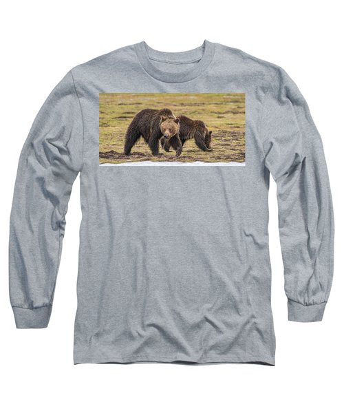 A Mini-mom And Yearling Long Sleeve T-Shirt