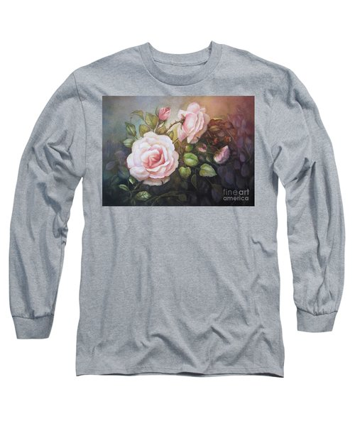 A Moment In Time Long Sleeve T-Shirt by Patricia Schneider Mitchell