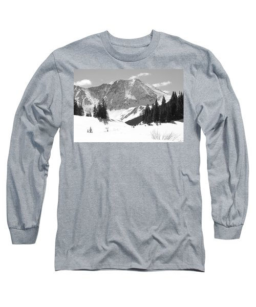 Long Sleeve T-Shirt featuring the photograph A Mountain Is A Buddha by Eric Glaser