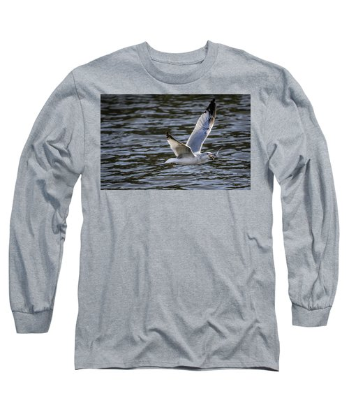 A Mouth Full Long Sleeve T-Shirt by Ray Congrove