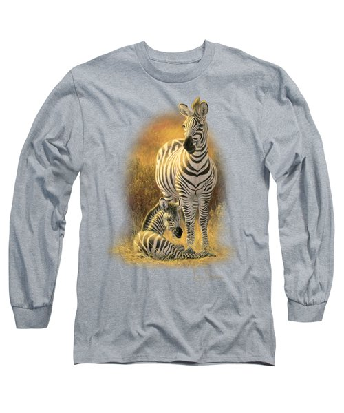 A New Day Long Sleeve T-Shirt by Lucie Bilodeau