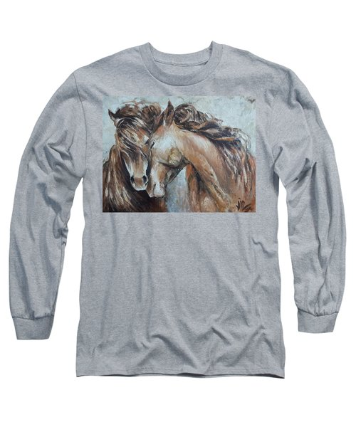 A Painting About Love  Long Sleeve T-Shirt