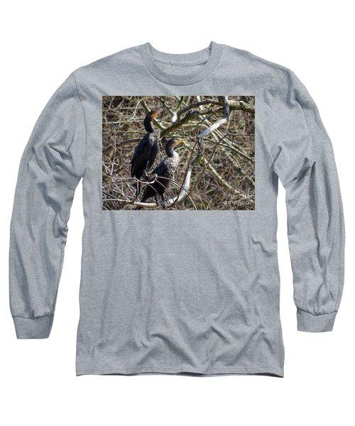 A Pair Of Cormorants Long Sleeve T-Shirt