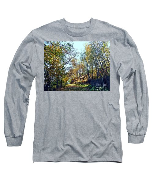 A Path In The Autumn Long Sleeve T-Shirt