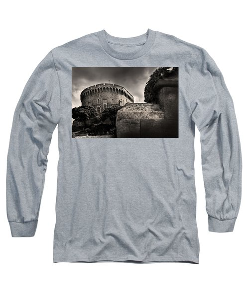 A Peak At The Tower Pictorial Long Sleeve T-Shirt