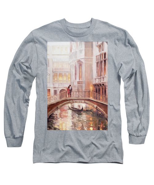 A Perfect Afternoon In Venice Long Sleeve T-Shirt
