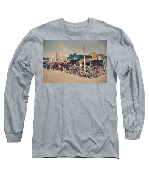 A Perfect Day For A Ride Long Sleeve T-Shirt by Laurie Search