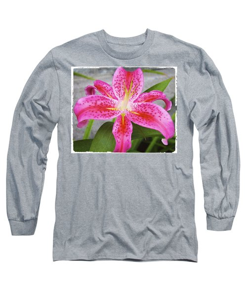 A Pink So Vivid I Can Almost Taste It Long Sleeve T-Shirt