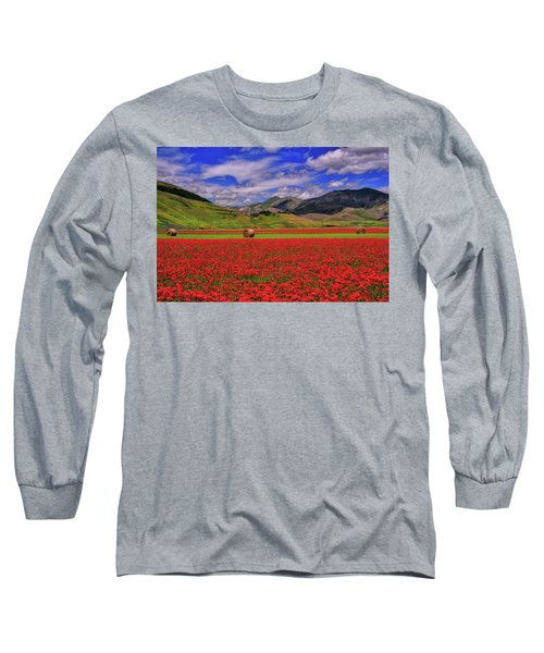 A Poppyy Dream Long Sleeve T-Shirt