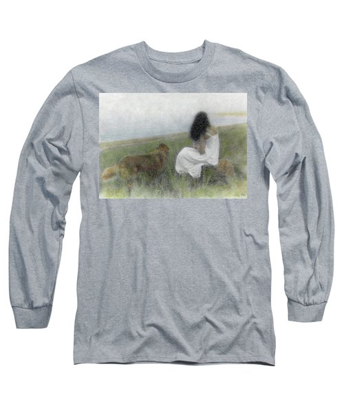A Quiet Moment On The Vineyard Long Sleeve T-Shirt