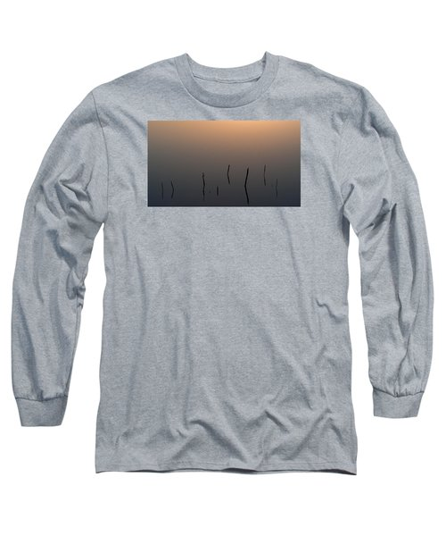 Long Sleeve T-Shirt featuring the photograph A Quiet Morning On The Ponds by Monte Stevens
