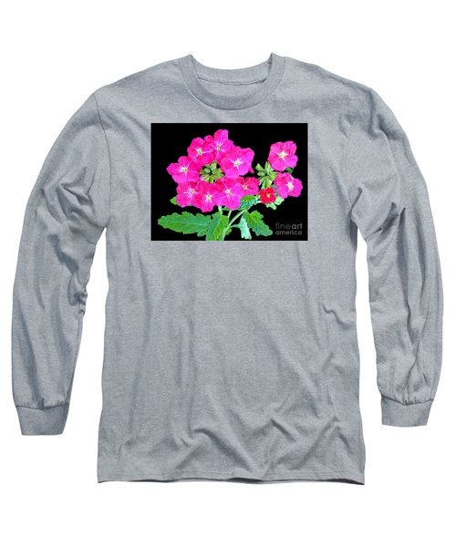 Long Sleeve T-Shirt featuring the photograph A Ring Of Verbena by Merton Allen