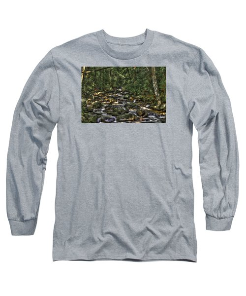 A River Through The Woods Long Sleeve T-Shirt