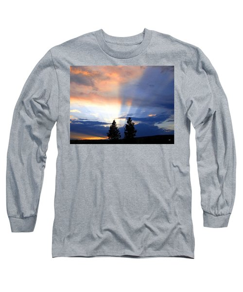 A Riveting Sky Long Sleeve T-Shirt