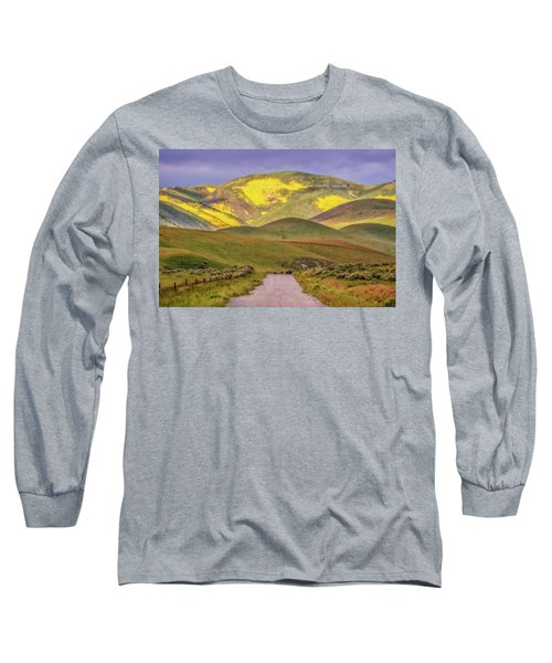 Long Sleeve T-Shirt featuring the photograph A Road Less Traveled by Marc Crumpler