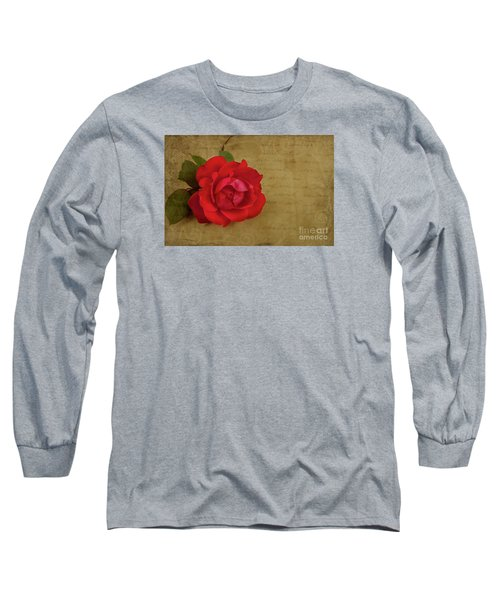 A Rose By Any Other Name Long Sleeve T-Shirt by Lena Auxier