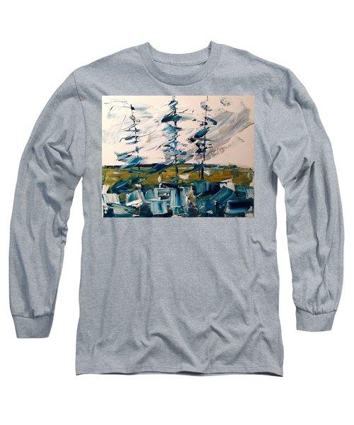 A Scrape Of Pines Long Sleeve T-Shirt