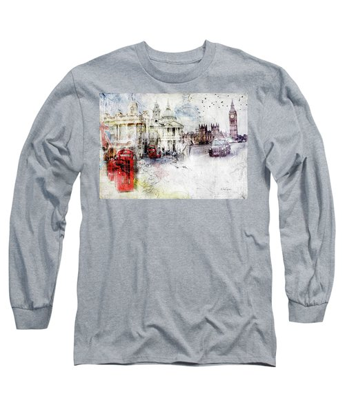 A Sense Of Time Long Sleeve T-Shirt by Nicky Jameson