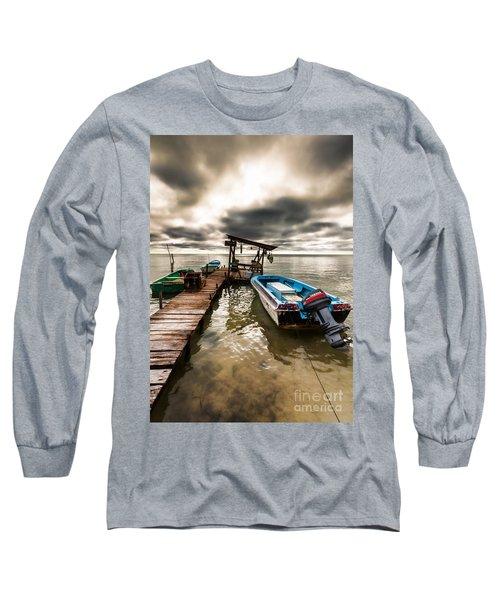 A Storm Brewing Long Sleeve T-Shirt