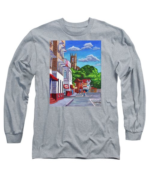 A Stroll On Melville Street Long Sleeve T-Shirt