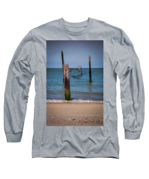 A Study Of Threes Long Sleeve T-Shirt by David Cote