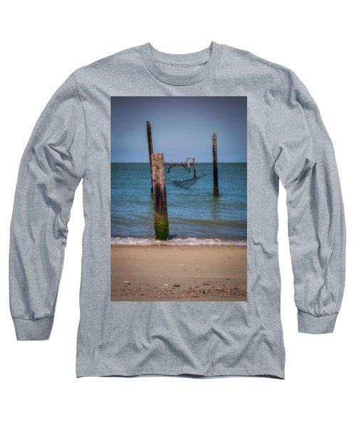 A Study Of Threes Long Sleeve T-Shirt