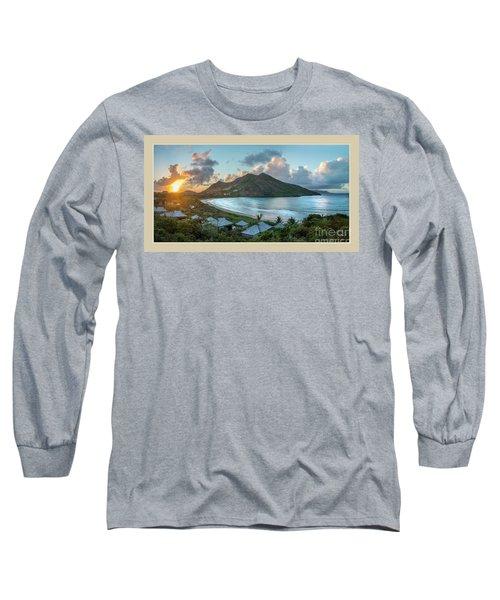 A Sunset On Bay Long Sleeve T-Shirt