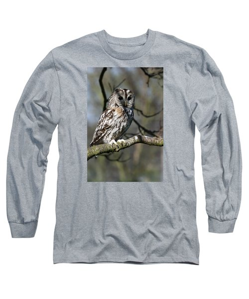 A Tawny Owl  Long Sleeve T-Shirt