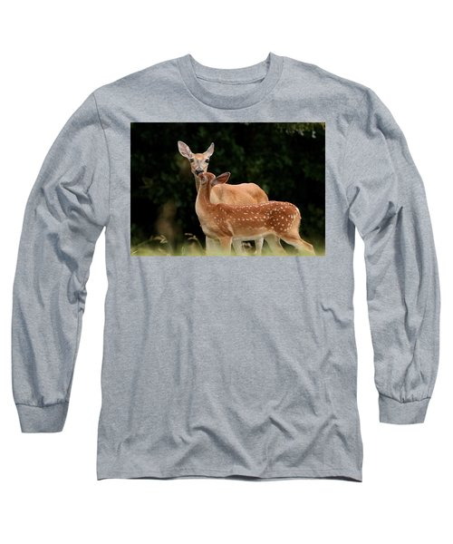 A Tender Moment Long Sleeve T-Shirt by Sheila Brown