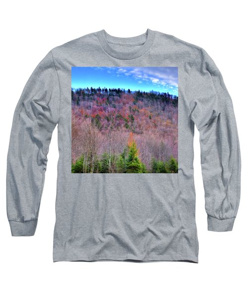 Long Sleeve T-Shirt featuring the photograph A Touch Of Autumn by David Patterson