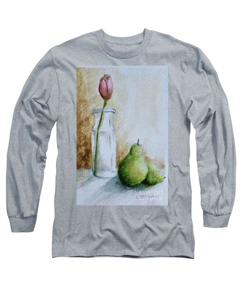 A Tulip And Two Pears Long Sleeve T-Shirt