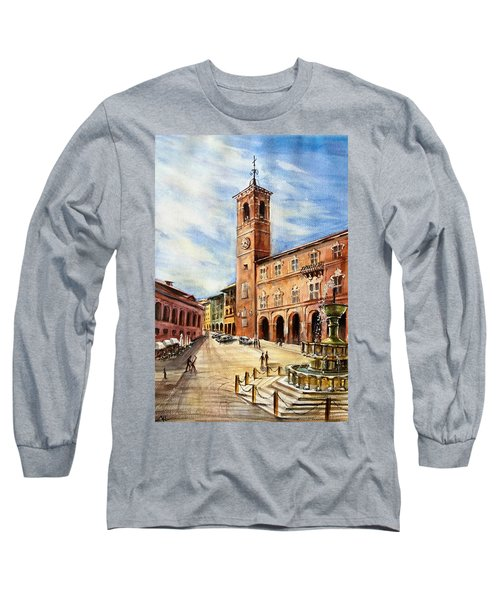 A View From Fabriano Long Sleeve T-Shirt