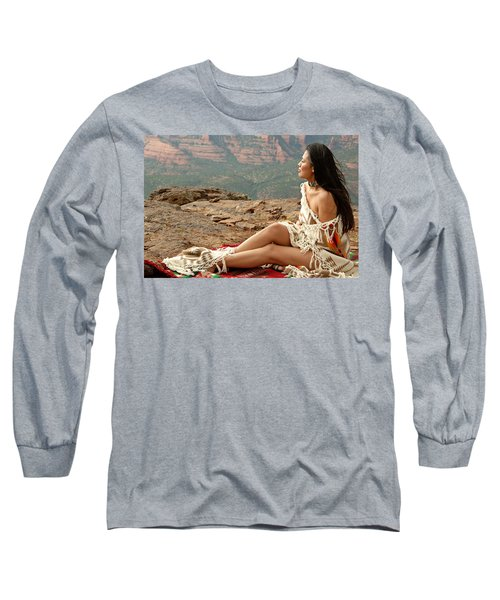 A View Long Sleeve T-Shirt