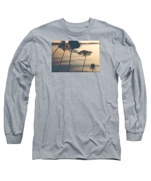 A Vintage Sunset Long Sleeve T-Shirt by Rebecca Davis