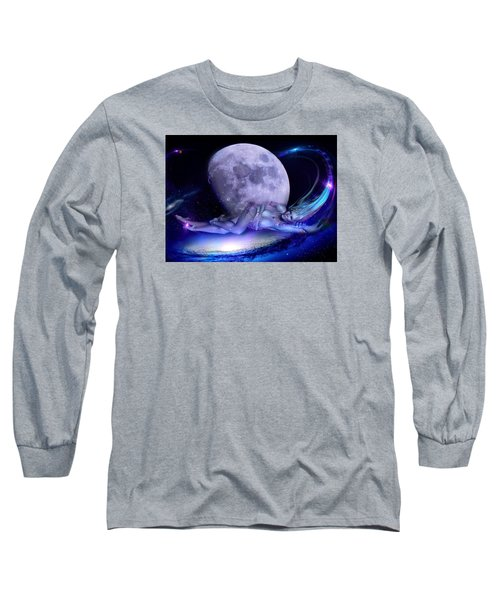 Long Sleeve T-Shirt featuring the photograph A Visit From Venus by Glenn Feron