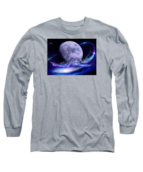A Visit From Venus Long Sleeve T-Shirt by Glenn Feron
