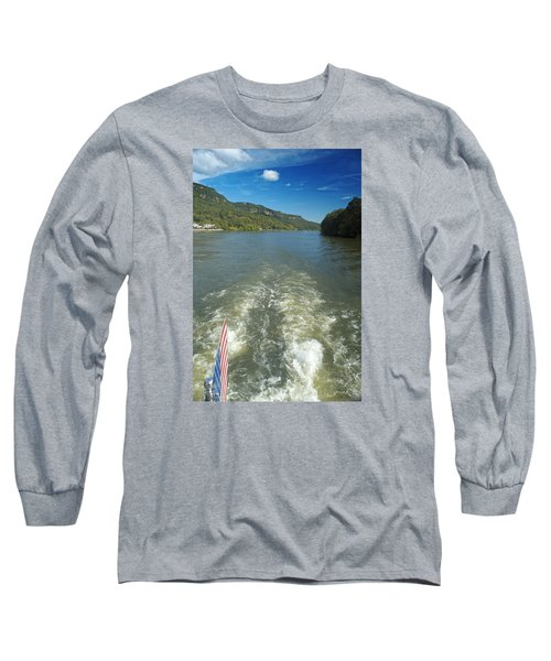 A Wake, River And Sky Col Long Sleeve T-Shirt
