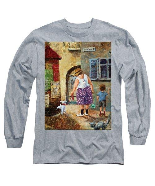A Walk Down Memory Line Long Sleeve T-Shirt
