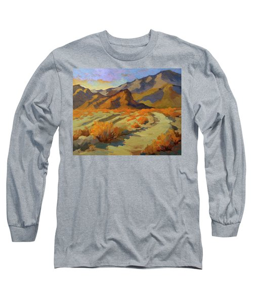 A Walk In La Quinta Cove Long Sleeve T-Shirt by Diane McClary