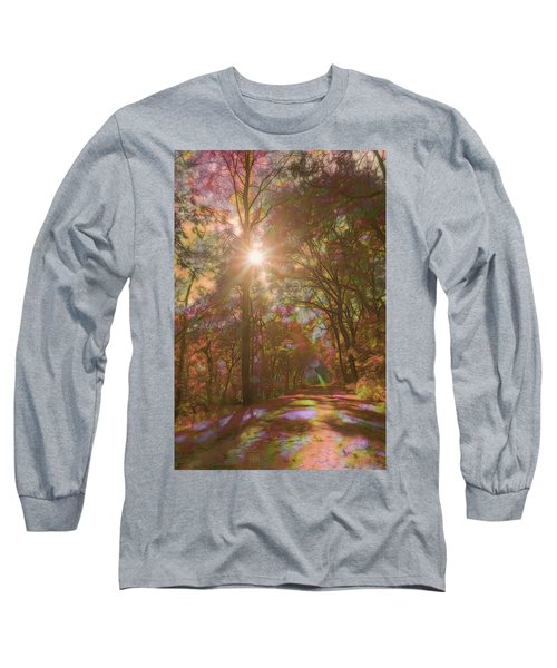 A Walk Through The Rainbow Forest Long Sleeve T-Shirt