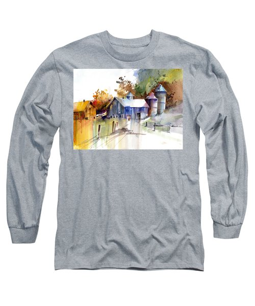 A Walk To The Barn Long Sleeve T-Shirt