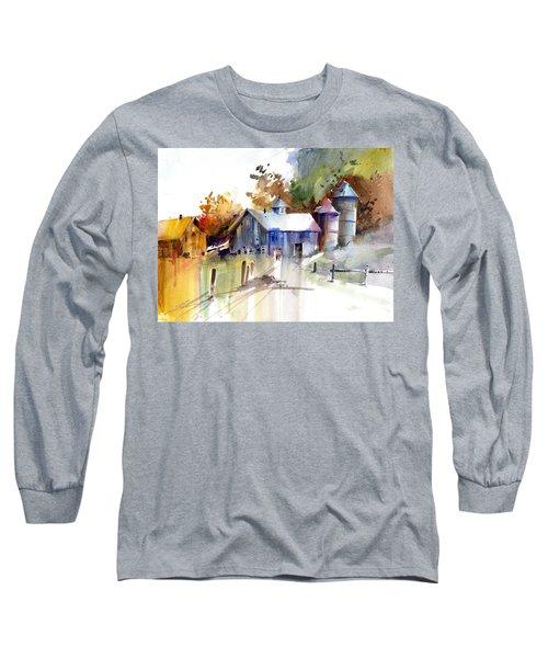 A Walk To The Barn Long Sleeve T-Shirt
