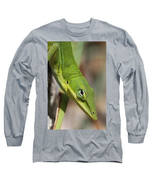 Long Sleeve T-Shirt featuring the photograph A Watchful Eye by Doris Potter
