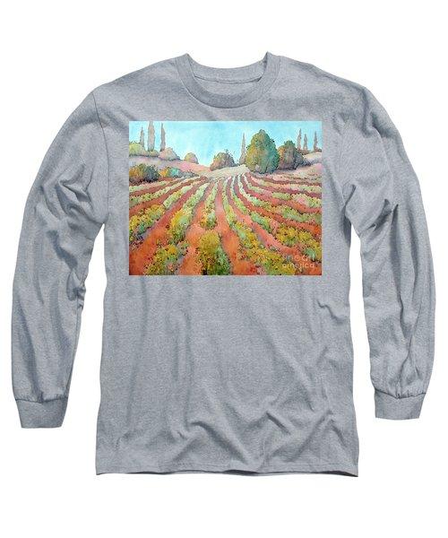 A Way Of Life Long Sleeve T-Shirt by Joyce Hicks