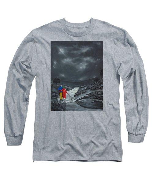 A Wee Bijou Strollette Long Sleeve T-Shirt by Scott Wilmot