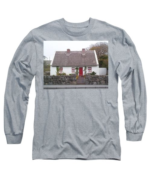 A Wee Small Cottage Long Sleeve T-Shirt by Charles Kraus